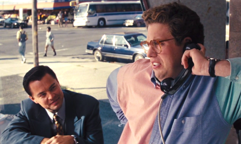 THE WOLF OF WALL STREET (2013), Leonardo DiCaprio, Jonah Hill
