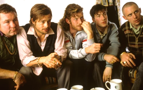 Snatch (2000), Brad Pitt, Jason Flemyng