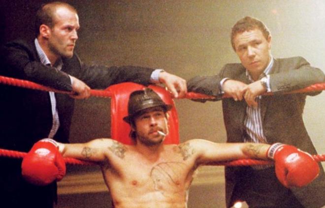 Snatch (2000), Jason Statham, Brad Pitt, Stephen Graham