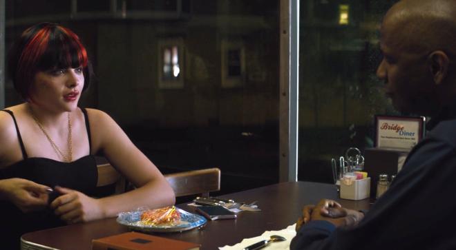 The Equaliser (2014), Denzel Washington, Chloë Grace Moretz