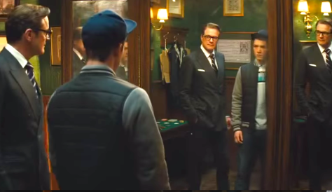 Kingsman, The Secret Service (2014), Colin Firth, Taron Egerton
