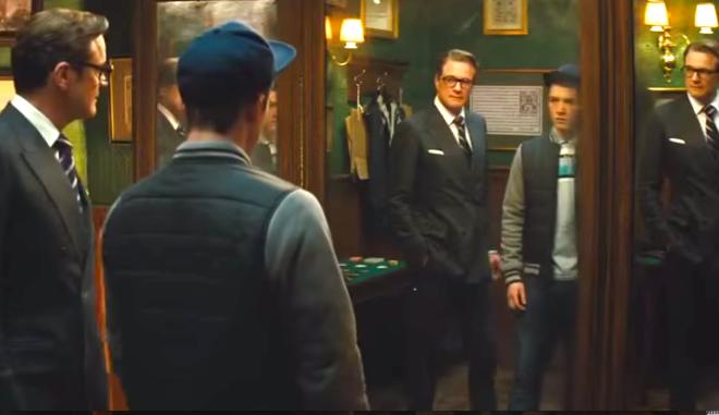 Kingsman, The Secret Service (2014), Colin Firth, Taron Egerton