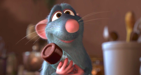 Ratatouille (2007, Patton Oswalt, Remi