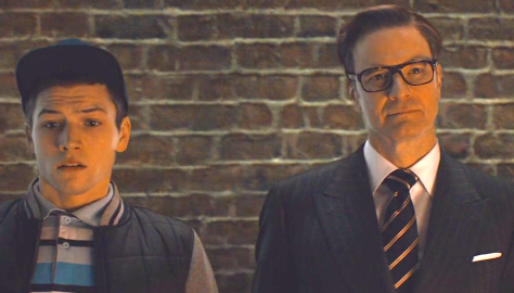 Kingsman - The Secret Service (2014), Taron Egerton, Colin Firth