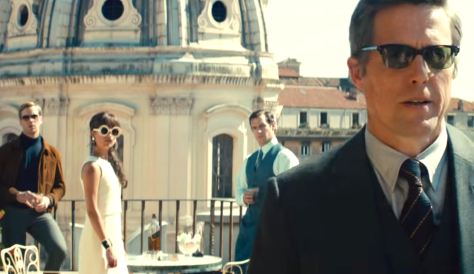 The Man from U.N.C.L.E. (2015), Armie Hammer, Alicia Vikander, Henry Cavill, Hugh Grant