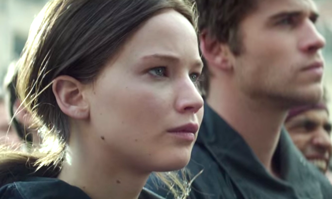 The Hunger Games: Mockingjay, Part 2 (2015) Jennifer Lawrence, Liam Hemsworth