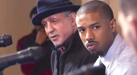 Creed (2015), Sylvester Stallone, Michael B. Jordan