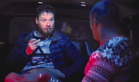 The Night Before (2015), Seth Rogen, Anthony Mackie