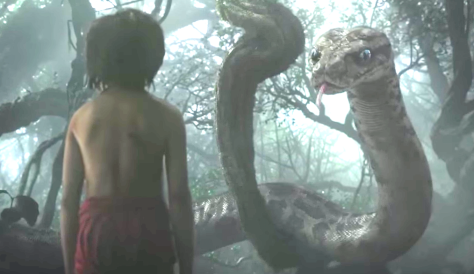 The Jungle Book (2016), Neel Sethi, Scarlett Johansson (Kaa voice)