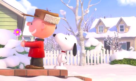 The peanuts Movie (2015), Charlie Brown, Snoopy