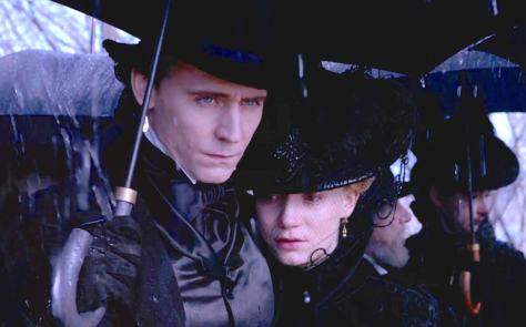 Crimson Peak (2015), Tom Hiddleston, Mia Wasikowska