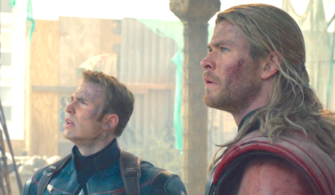 Avengers - Age of Ultron (2015), Chris Evans, Chris Hemsworth
