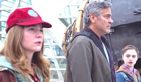 Tomorrowland (2015), Britt Robertson, George Clooney, Raffey Cassidy