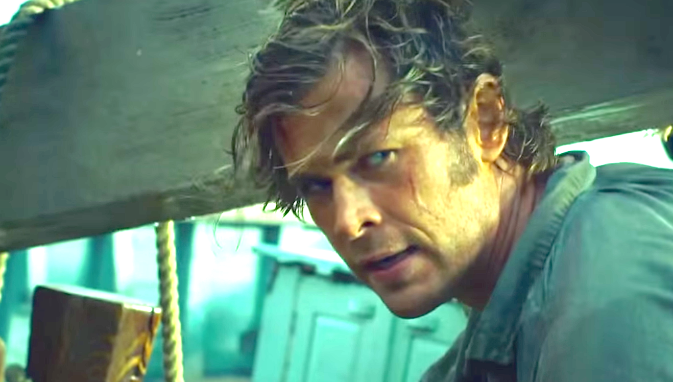 In The Heart Of The Sea (2015), Chris Hemsworth