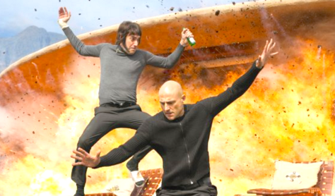 The Brothers Grimsby (2016), Sacha Baron Cohen, Mark Strong