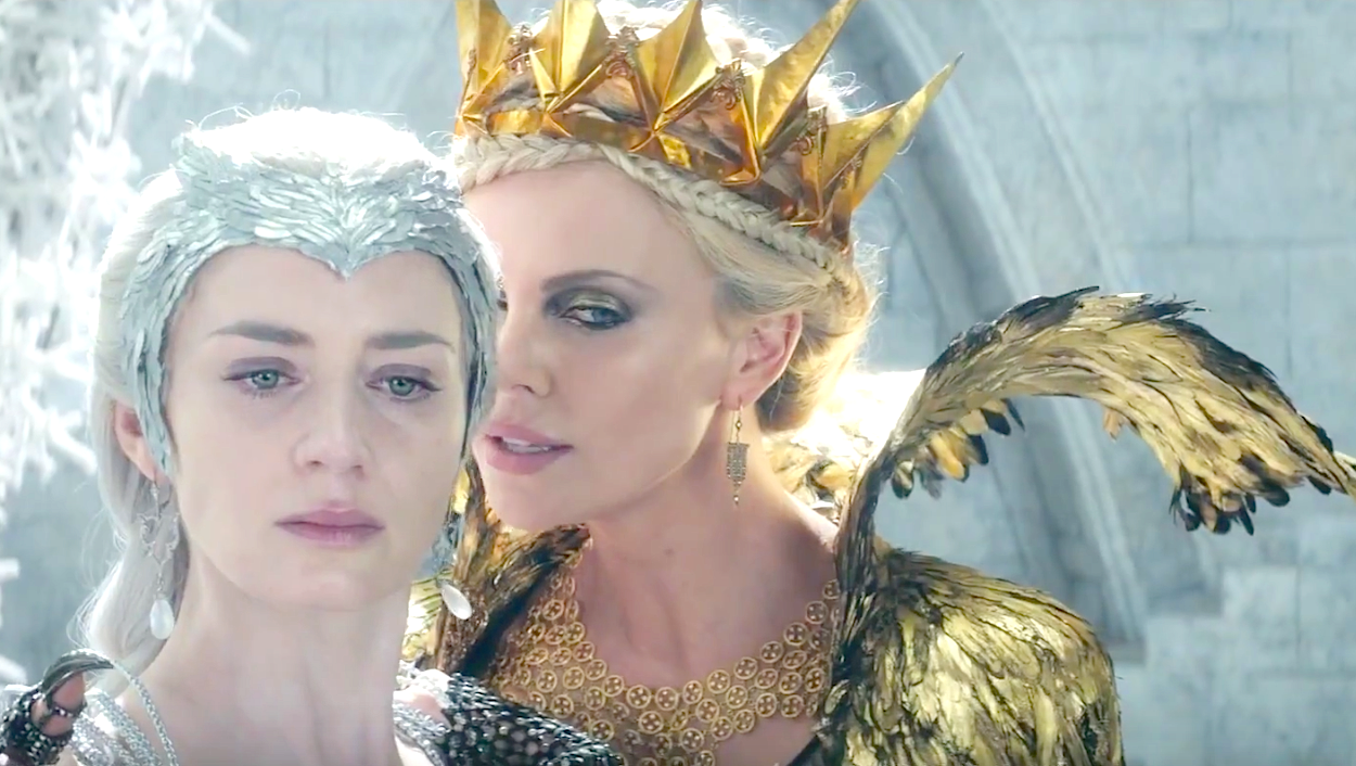 The Huntsman - Winters War (2016), Emily Blunt, Charlize Theron