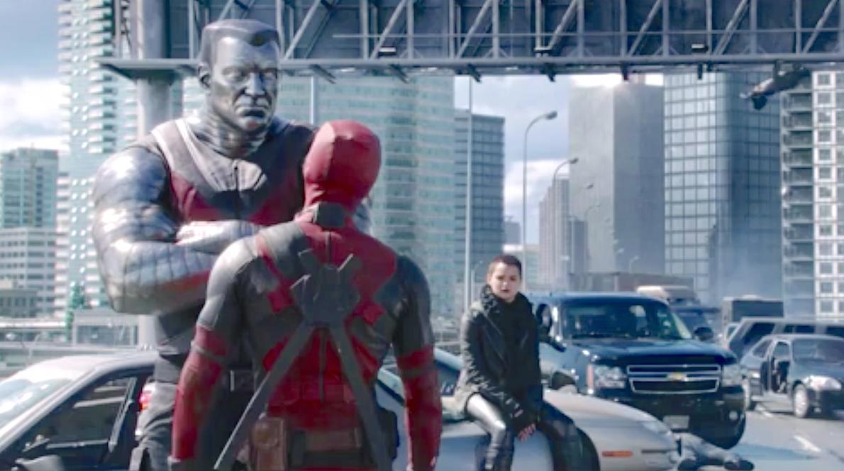 Deadpool (2016), Stefan Kapicic, Ryan Reynolds, Brianna Hildebrand