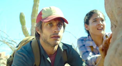 Desierto (2015), Gael Garcia Bernal, Alondra Hidalgo