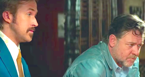 Ryan Gosling, Russell Crowe, The Nice Guys (2016)