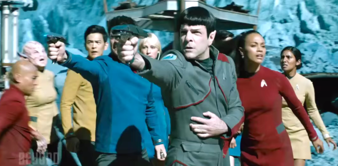STAR TREK BEYOND (2016): New Trailer Starring Chris Pine, Zoe Saldana & Idris Elba