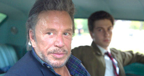 Ashby (2015), Mickey Rourke, Nat Wolff