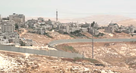 Colliding Dreams (2015), Israeli West Bank barrier