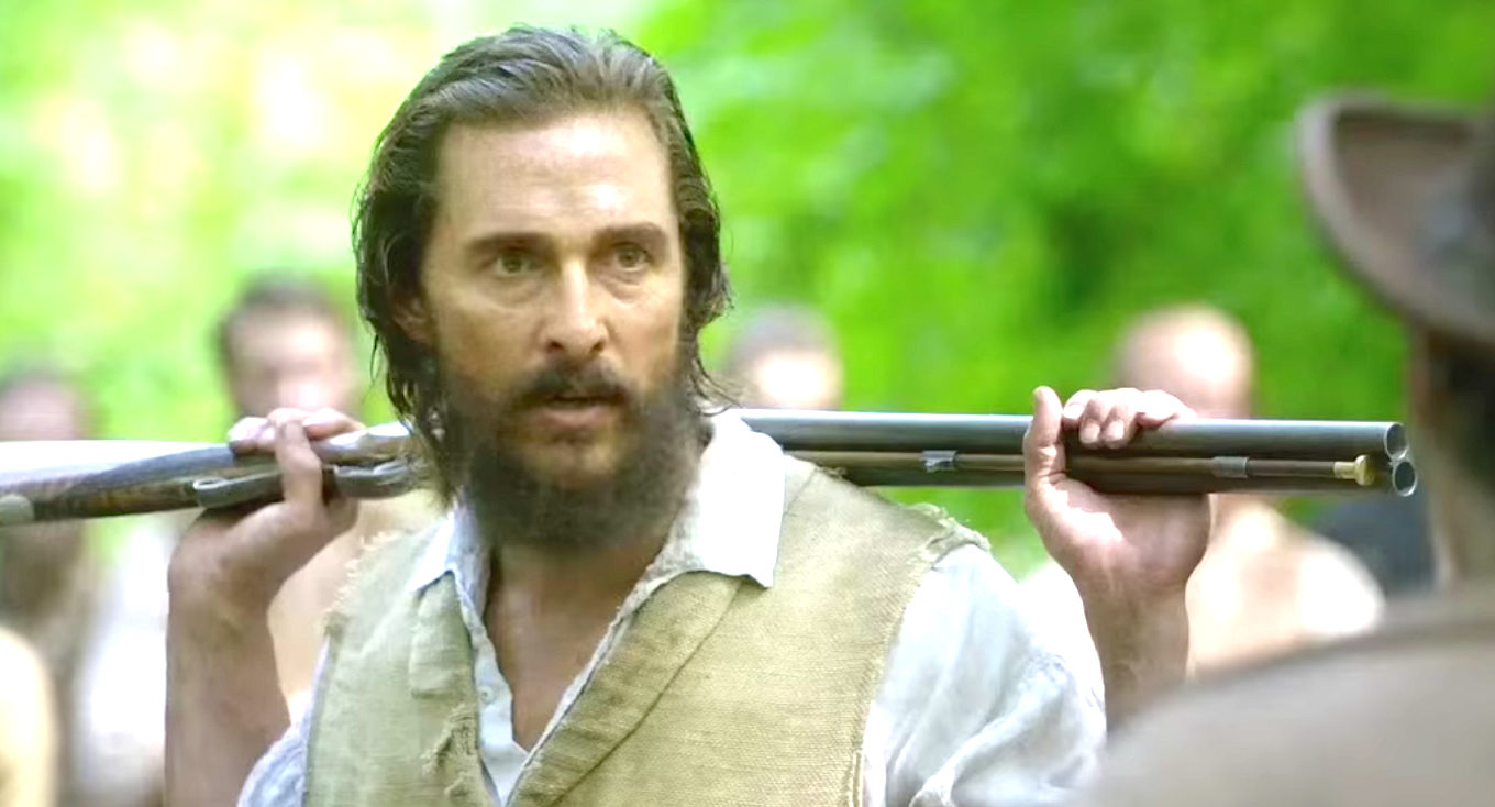 Free State of Jones (2016), Matthew McConaughey as Newton Knight