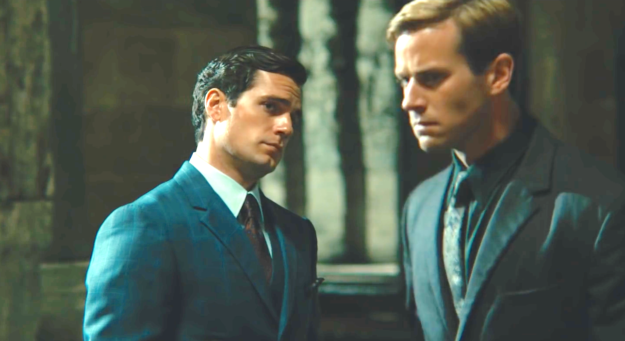 The Man From U.N.C.L.E (2015), Henry Cavill, Armie Hammer