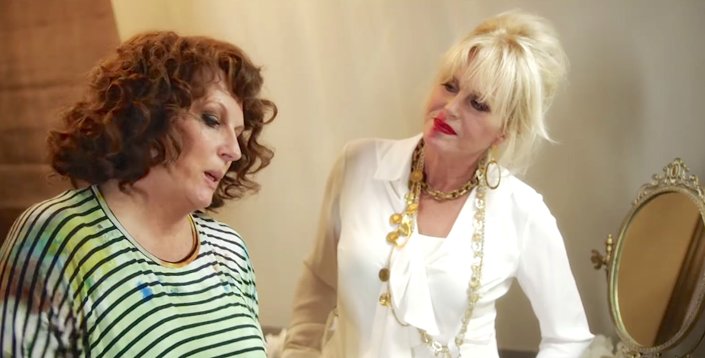 Absolutely Fabulous - The Movie (2016), Joanna Lumley, Jennifer Saunders