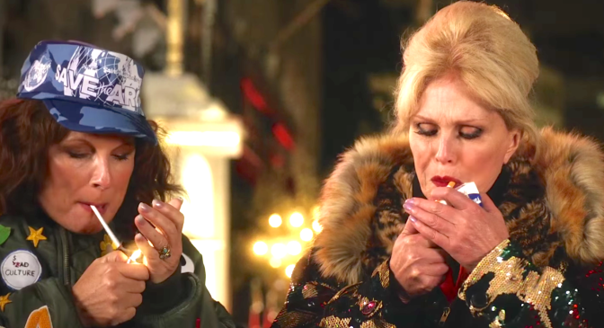 ABSOLUTELY FABULOUS THE MOVIE (2016): New Trailer From Jennifer Saunders, Joanna Lumley & Jon Hamm