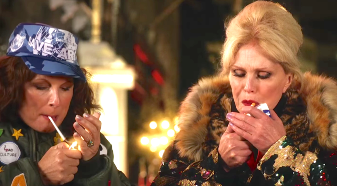 ABSOLUTELY FABULOUS – THE MOVIE (2016): New Trailer From Jennifer Saunders, Joanna Lumley, Jon Hamm Kate Moss…