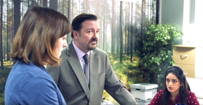 David Brent - Life on the Road (2016), Ricky Gervais as David Brent.