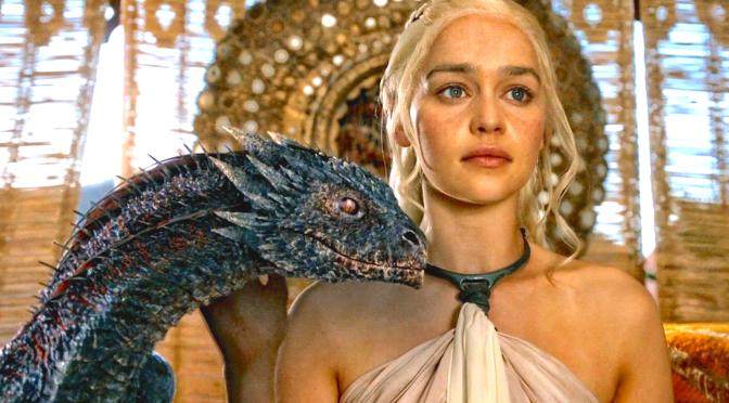 Game Of Thrones (2011-), Emilia Clarke (Daenerys Targaryen) a.k.a Khaleesi a.ka. Daenerys Stormborn
