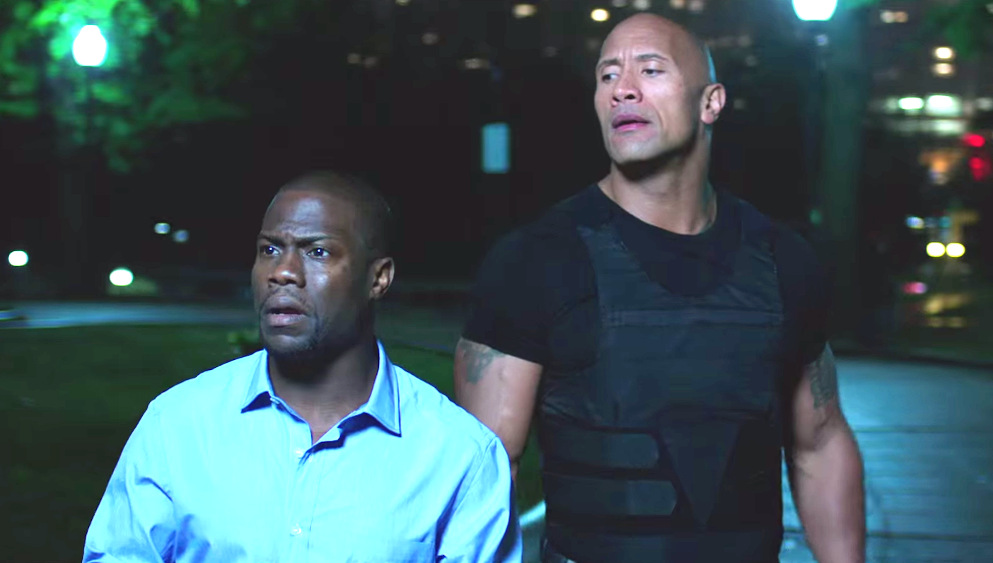 Central Intelligence (2016), Kevin Hart, Dwayne Johnson