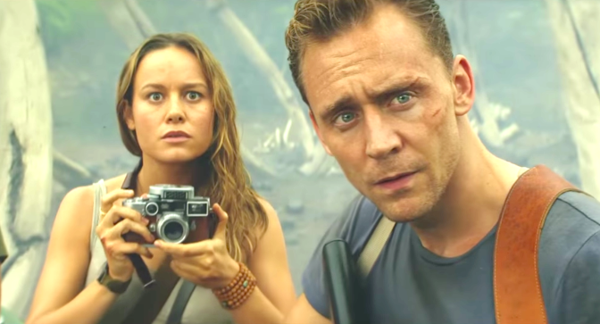 Kong - Skull Island (2017): Brie Larson, Tom Hiddleston