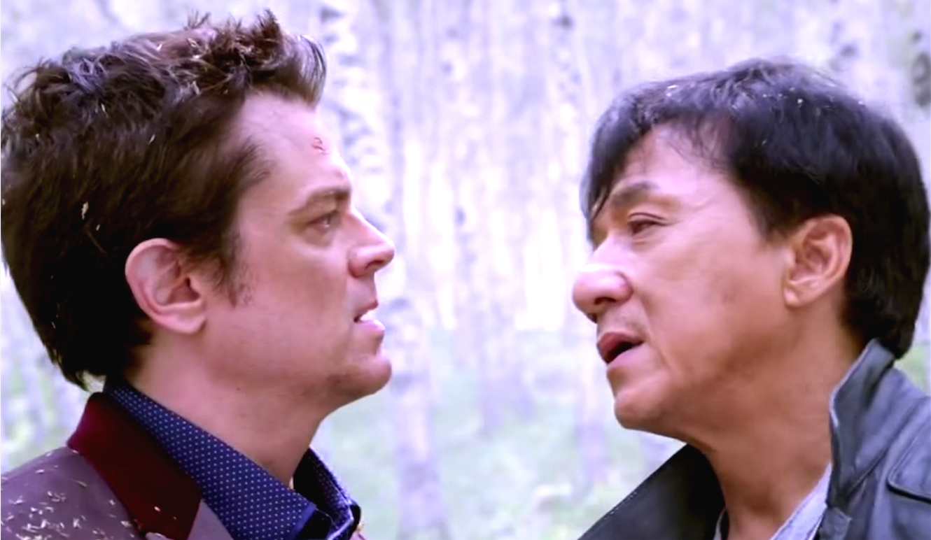 Skiptrace (2016), Johnny Knoxville, Jackie Chan