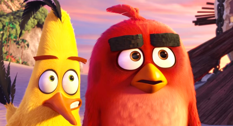 The Angry Birds Movie (2016), Josh Gad (Chuck), Jason Sudeikis (Red)