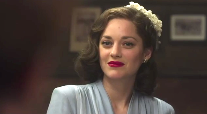 ALLIED (2016): New Trailer Starring Brad Pitt & Marion Cotillard
