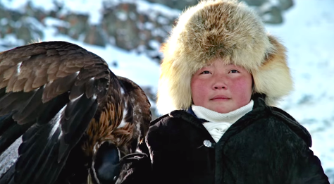The Eagle Huntress (2016), Aisholpan Nurgaiv