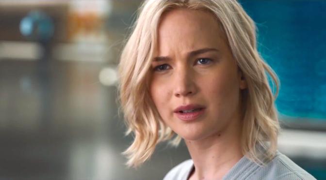 PASSENGERS (2016): New Trailer From Jennifer Lawrence, Chris Pratt, Michael Sheen…