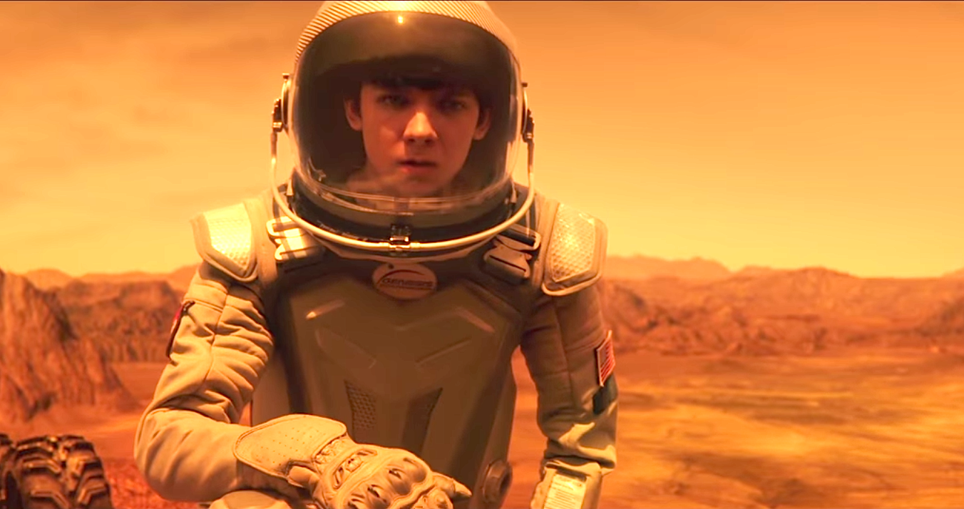 The Space Between Us (2016), Asa Butterfield