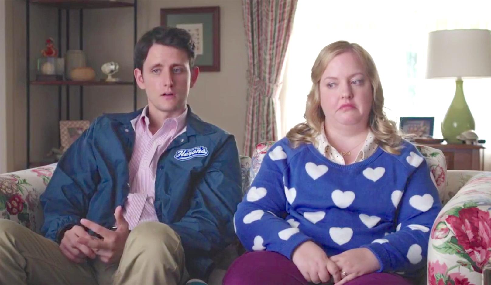 Mascots (2016), Zach Woods, Sarah Baker