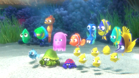 Finding Dory (2016), Nemo (Centre)