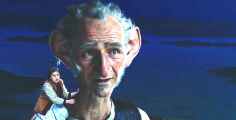 The BFG (2016), Ruby Barnhill, Mark Rylance