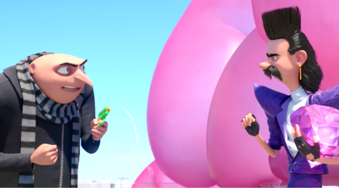 DESPICABLE ME 3 (2017): New Trailer From Steve Carell, Kristen Wiig, Trey Parker, Minions…
