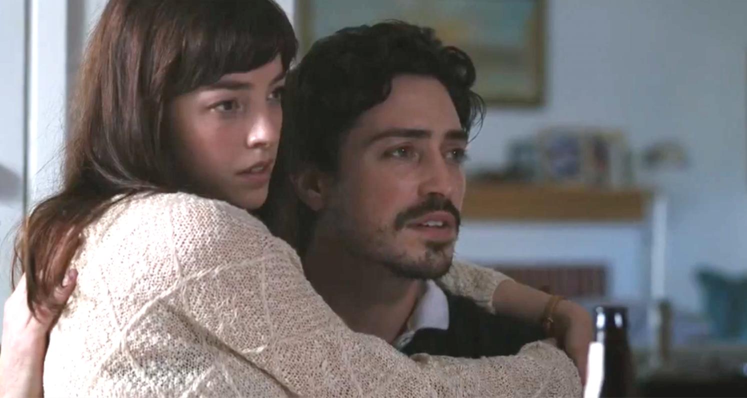 Between Us (2017), Olivia Thirlby, Ben Feldman