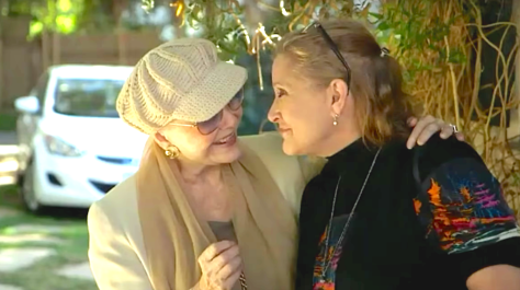 Bright Lights - Starring Carrie Fisher & Debbie Reynolds (2016), Debbie Reynolds, Carrie Fisher