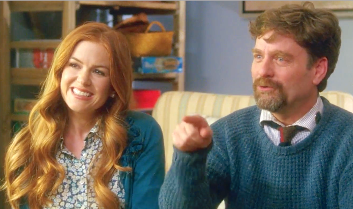 Keeping Up With The Joneses (2016), Zach Galifianakis, Isla Fisher