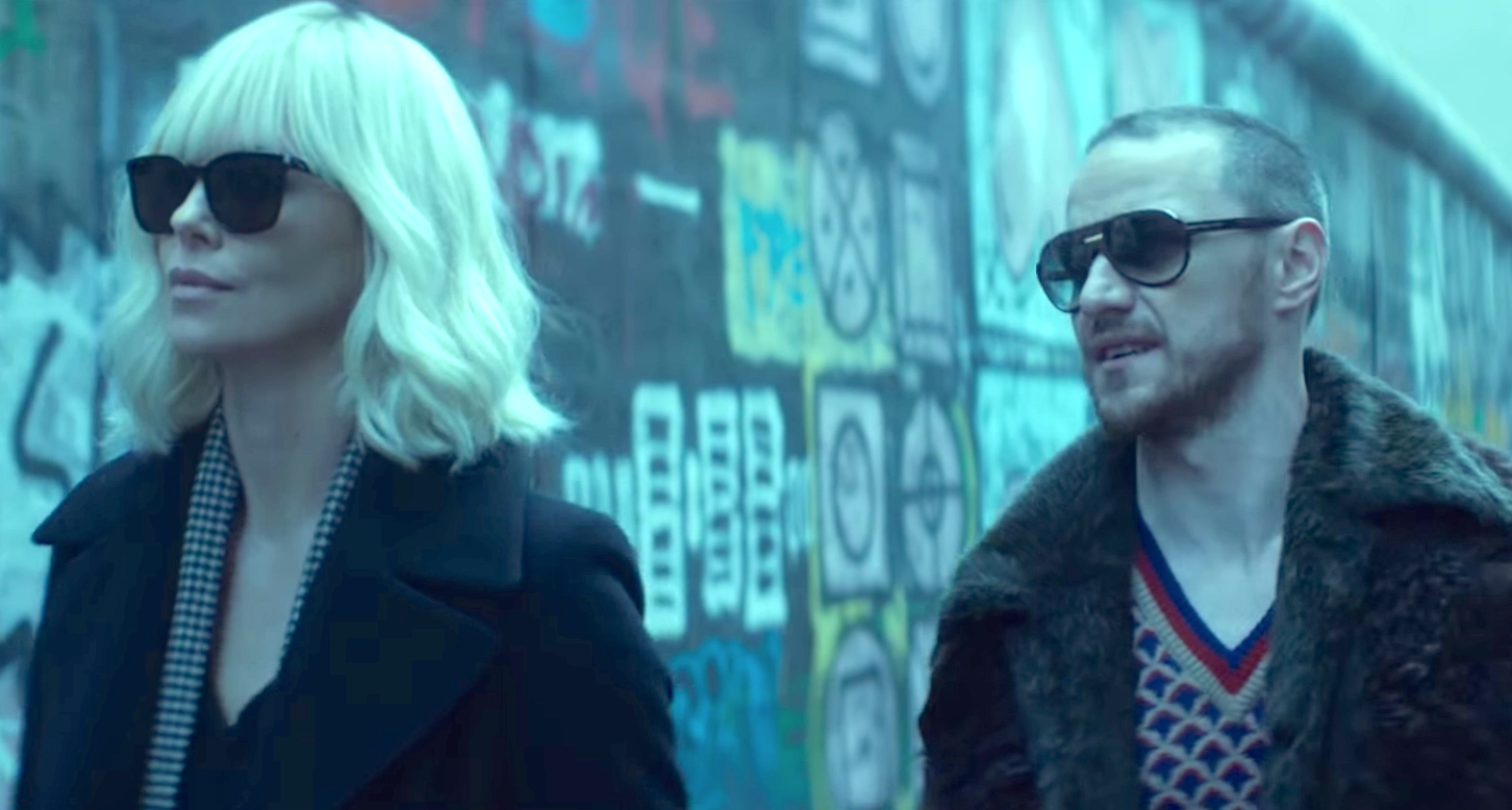 Atomic Blonde (2017), Charlize Theron, James McAvoy
