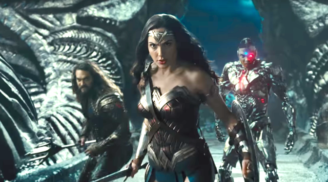 JUSTICE LEAGUE (2017): New Official Trailer Starring Jason Momoa, Gal Gadot, Ben Affleck…